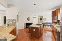 Check-out this huge kitchen! - 41959 ZIRCON DR, ALDIE