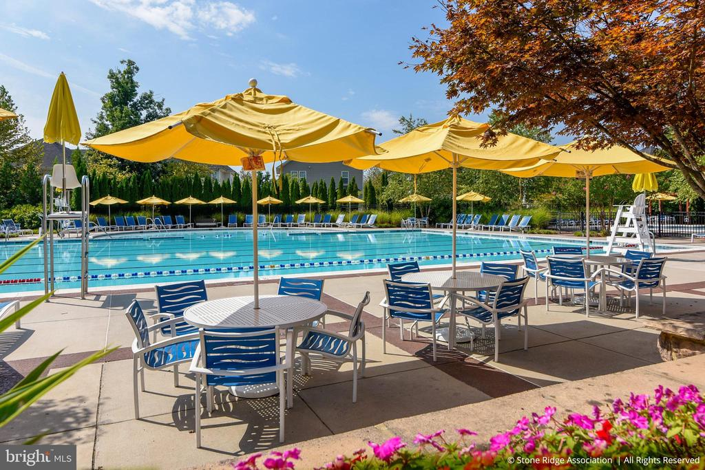 Greenstone Pool is a 25-metre pool w/lap lane... - 41959 ZIRCON DR, ALDIE
