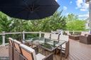 The spacious maintenance-free Trex deck... - 41959 ZIRCON DR, ALDIE