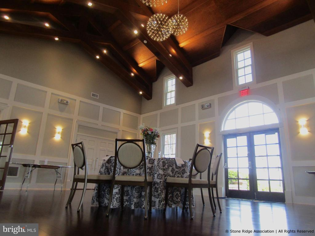 ...includes an event hall for rent... - 41959 ZIRCON DR, ALDIE
