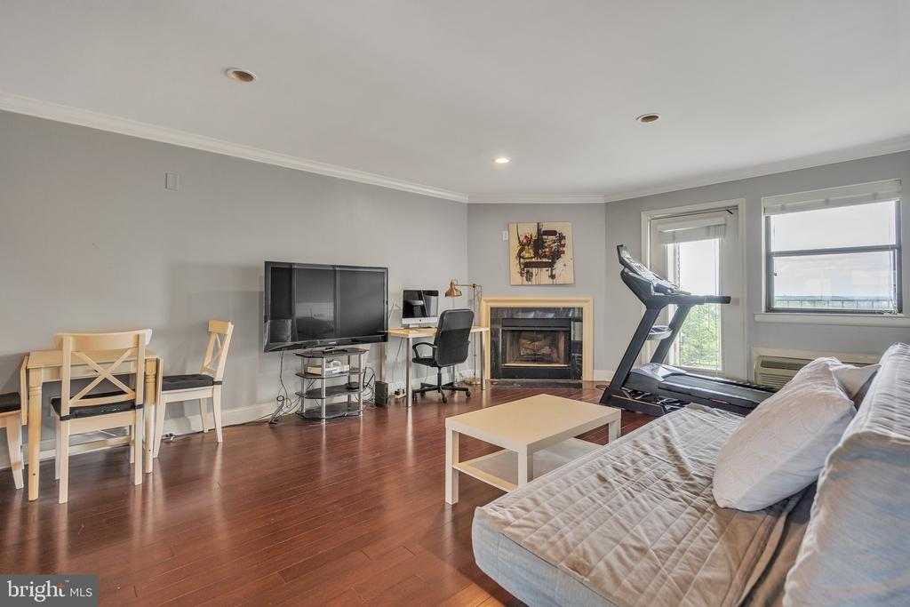 Sunlit and Private - 3217 WISCONSIN AVE NW #7C, WASHINGTON