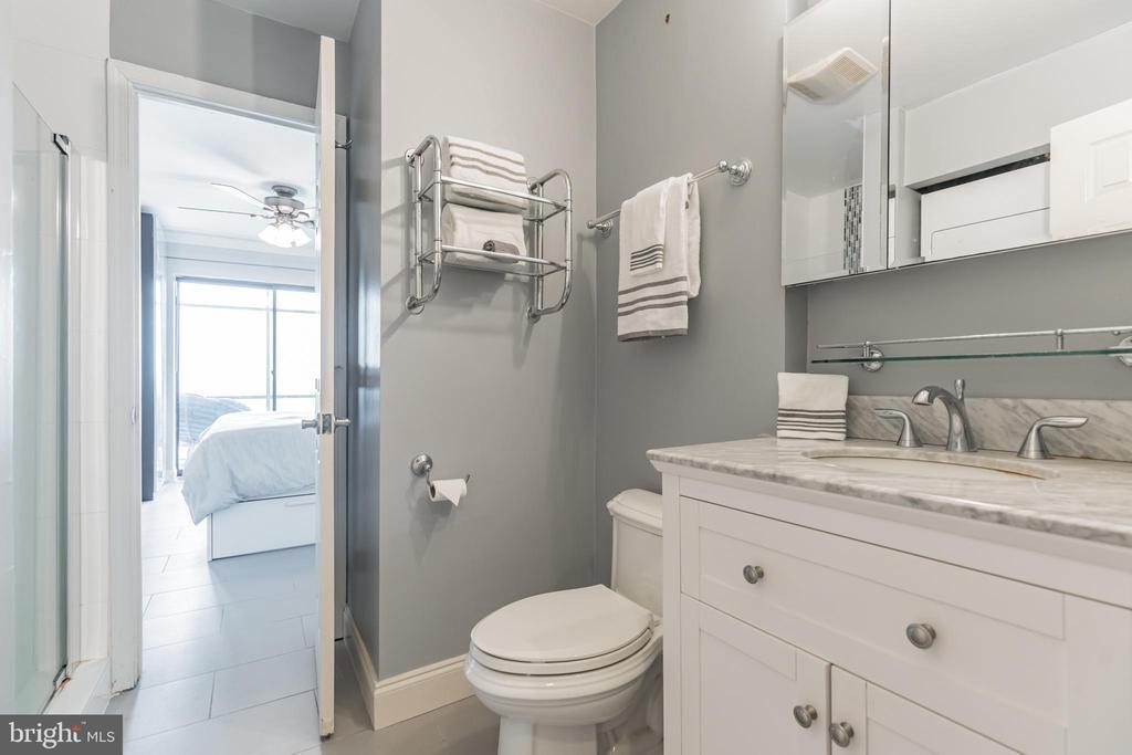 Completely Updated Bathroom - 3217 WISCONSIN AVE NW #7C, WASHINGTON