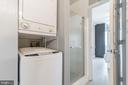 Stackable Washer Dryer - 3217 WISCONSIN AVE NW #7C, WASHINGTON