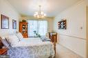 Formal dining currently used as main lvl bedroom - 10908 C E O CT, FREDERICKSBURG