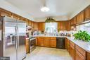 Large kitchen with stainless steel appliances - 10908 C E O CT, FREDERICKSBURG