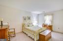 Second bedroom with walk-in closet - 10908 C E O CT, FREDERICKSBURG