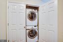 Full size washer/dryer - 701-302 COBBLESTONE BLVD #302, FREDERICKSBURG