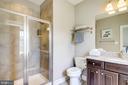 Upper Level Bath - 41062 LYNDALE WOODS DR, ALDIE