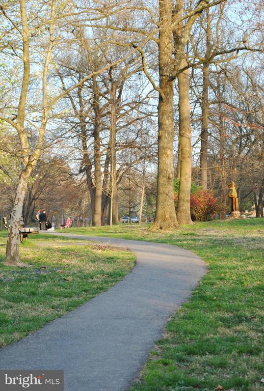 Walking and biking trails in town - 4437 WELLS PKWY, UNIVERSITY PARK