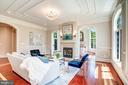 Exquisite Floor to Ceiling Millwork. 7 Fireplaces - 8334 ALVORD ST, MCLEAN
