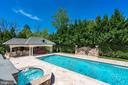 Swimming Pool Pavilion with Detached Hot Tub - 8334 ALVORD ST, MCLEAN