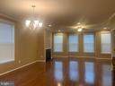 Looking into dining & living rooms from kitchen - 42426 DOGWOOD GLEN SQ, STERLING