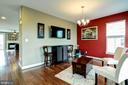 Main level dining room - 42238 PALLADIAN BLUE TER, BRAMBLETON