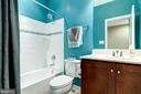 Hall bathroom - 42238 PALLADIAN BLUE TER, BRAMBLETON