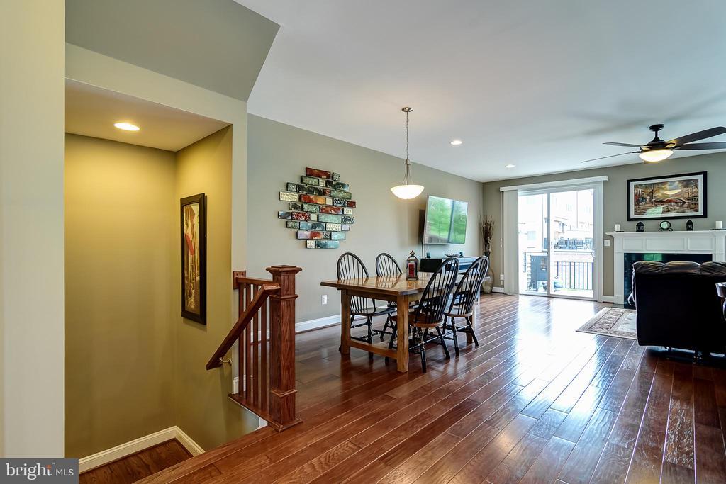 Engineered hardwood floors - 42238 PALLADIAN BLUE TER, BRAMBLETON