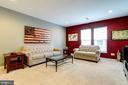 Family room on lower level - 42238 PALLADIAN BLUE TER, BRAMBLETON