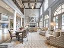 Informal Living Open to 2nd Floor Hallway - 2221 30TH ST NW, WASHINGTON