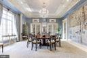 Dining Room with Mirrored Doors to Kitchen - 2221 30TH ST NW, WASHINGTON