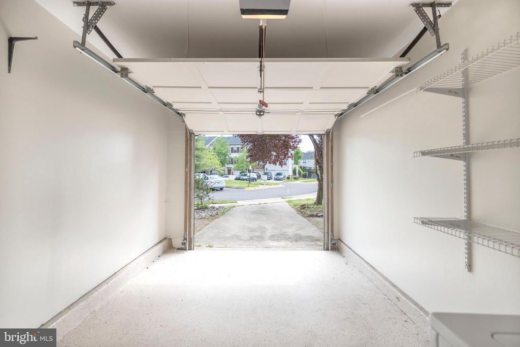 One car garage and one car drive way - 21513 WELBY TER, BROADLANDS
