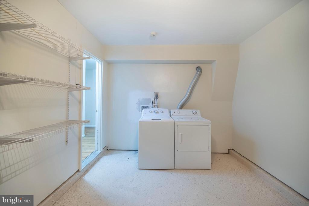 Laundry and dryer in the garage - 21513 WELBY TER, BROADLANDS