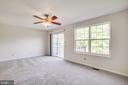 Family Room w/ Access to Deck - 11317 WYTHEVILLE LN, FREDERICKSBURG