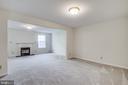 Lower Level Rec Room - 11317 WYTHEVILLE LN, FREDERICKSBURG
