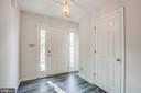 Light Filled Entry - 11317 WYTHEVILLE LN, FREDERICKSBURG