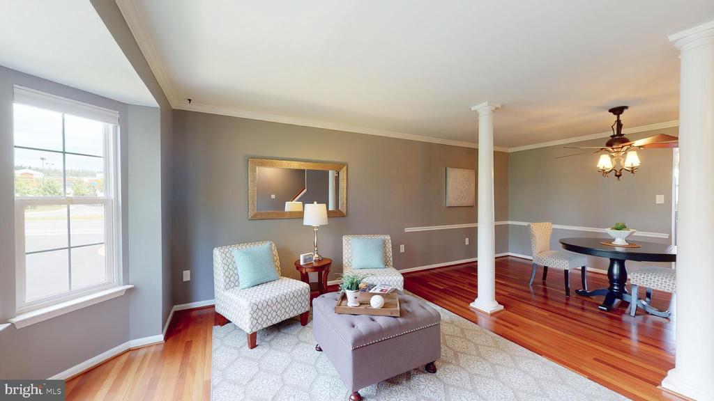 Sunny Living Room - 210 GOLDEN LARCH TER NE, LEESBURG