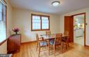 Dining room - 4437 WELLS PKWY, UNIVERSITY PARK