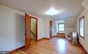 Third bedroom on upper floor - 4437 WELLS PKWY, UNIVERSITY PARK