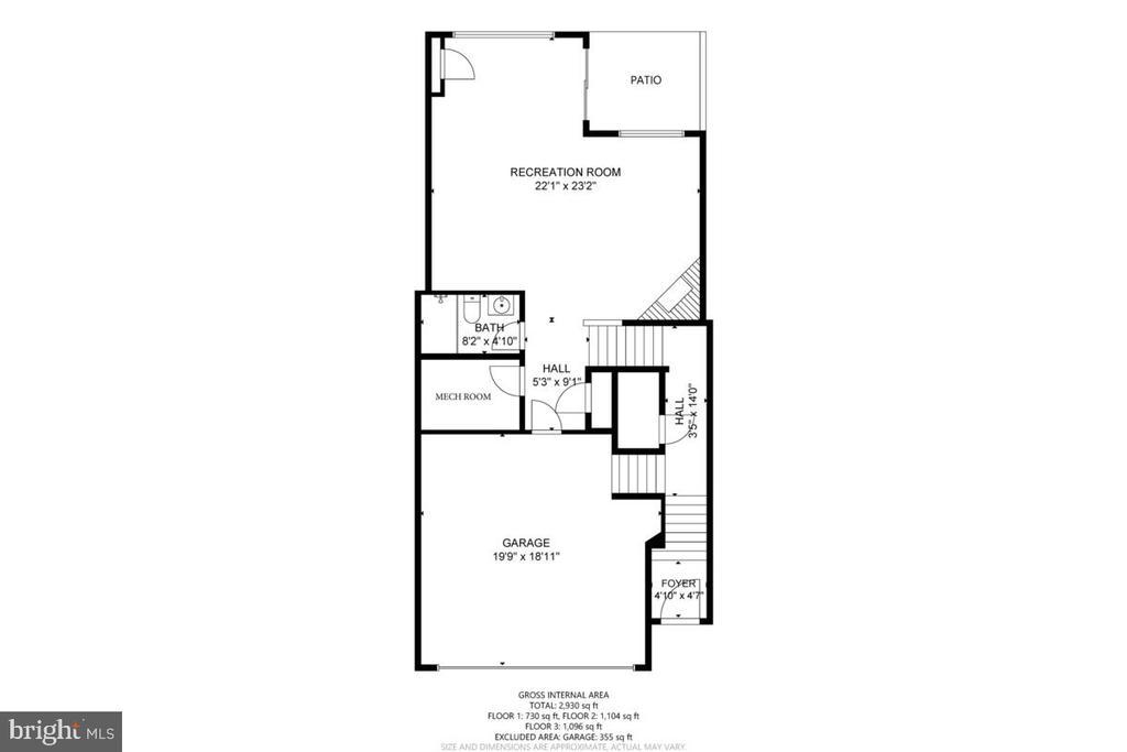 Floor 1 - 23636 SAILFISH SQ, BRAMBLETON