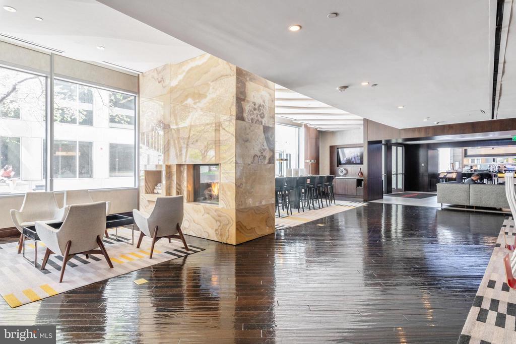Hotel lobby - 1111 19TH ST N #1909, ARLINGTON
