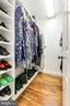 One of two walk in closets in primary suite - 1904 MALLINSON WAY, ALEXANDRIA