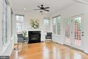 Lovely AND already wired for TV over the fireplace - 42329 CAPITAL TER, CHANTILLY
