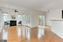 Family Room Opens to Deck & Kitchen Table Area - 42329 CAPITAL TER, CHANTILLY