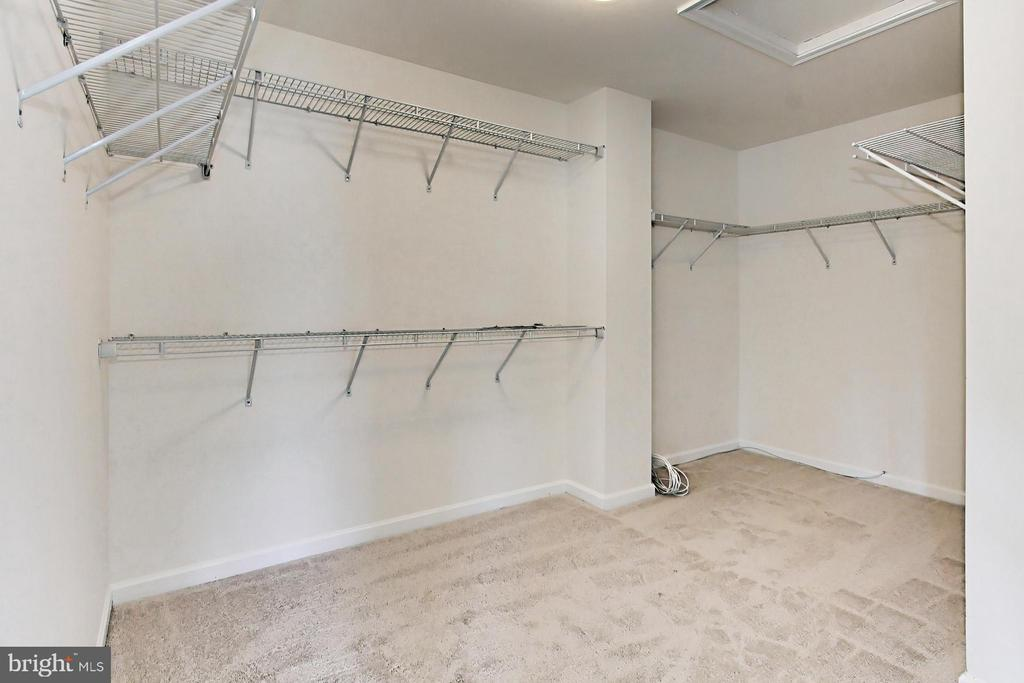Spacious Walk-In Closet - 42329 CAPITAL TER, CHANTILLY