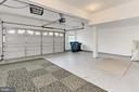 Over-Sized 2-Car Garage w/ Storage & Sealed Floors - 42329 CAPITAL TER, CHANTILLY