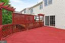 Large Deck with Privacy Screening - 42329 CAPITAL TER, CHANTILLY