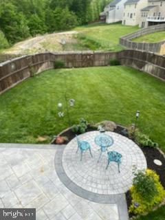 Rear View - Fenced Yard & Patio - 23 TAYLORS HILL WAY, FREDERICKSBURG