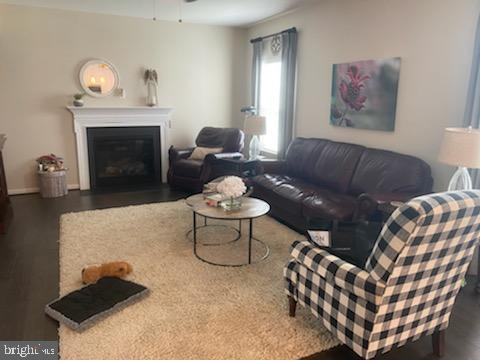 Family rroom w/gas freplace - 23 TAYLORS HILL WAY, FREDERICKSBURG
