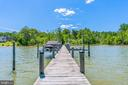 300ft dock with 30 ft x 15 ft T. Dock - 5898 COVE HARBOUR, KING GEORGE