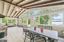 Sunroom with high ceilings - 5898 COVE HARBOUR, KING GEORGE