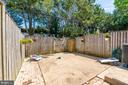 Backyard / Patio - 3543 S STAFFORD ST #A, ARLINGTON