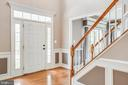 Two-story foyer with beautiful molding - 29 WALLACE LN, STAFFORD