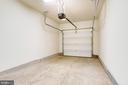 Inside the Private One Car Garage #207 - 20580 HOPE SPRING TER #207, ASHBURN