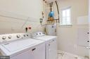Separate Laundry Room with a Window - 20580 HOPE SPRING TER #207, ASHBURN