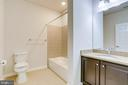 2nd Bath  located near Great Room and BR - 20580 HOPE SPRING TER #207, ASHBURN