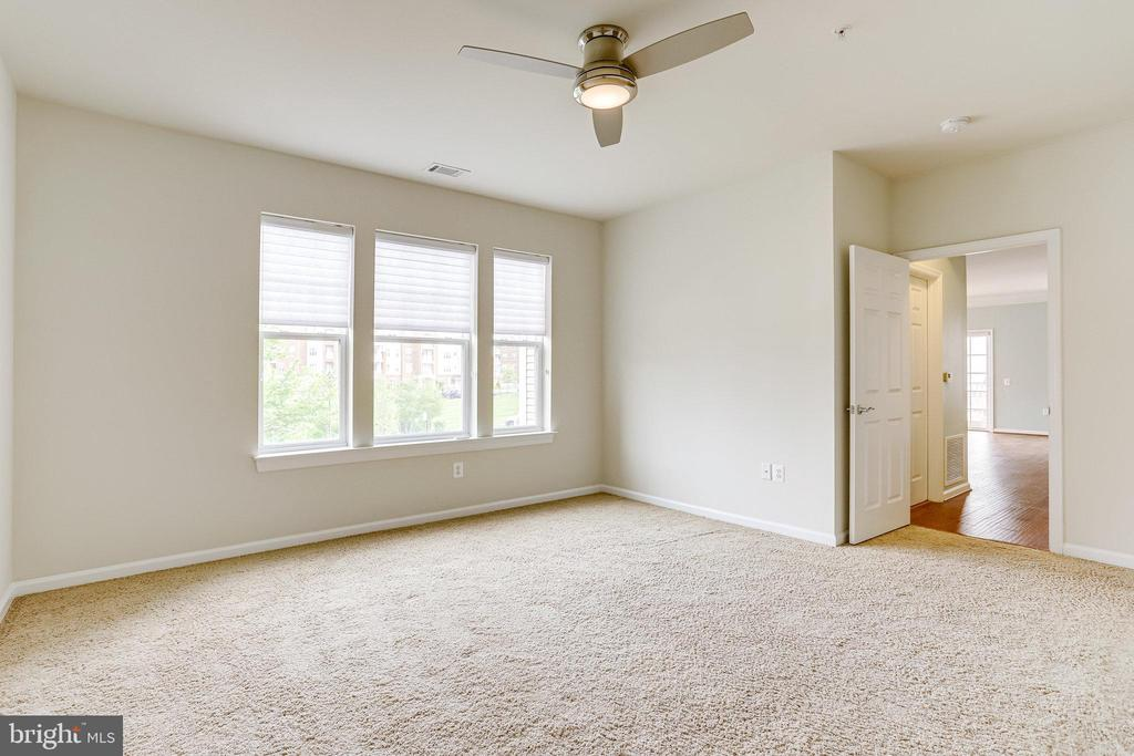Remote control fan in Primary Bedroom - 20580 HOPE SPRING TER #207, ASHBURN