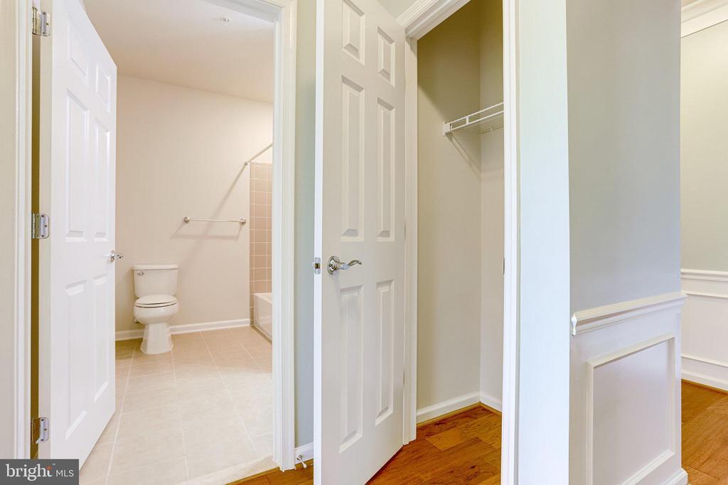 Coat Closet located in the Hall near Bath - 20580 HOPE SPRING TER #207, ASHBURN