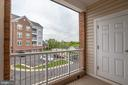 View from the Balcony on the side of the Building - 20580 HOPE SPRING TER #207, ASHBURN